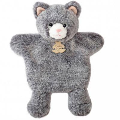 Peluche marionnette Chat Sweety Mousse (25 cm)  par Histoire d'Ours