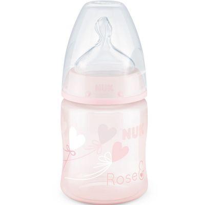 Biberon First Choice + rose (150 ml)  par NUK