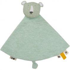 Doudou plat ours Mr. Polar Bear
