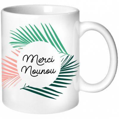 Mug Nounou Jungle (personnalisable)  par Les Griottes