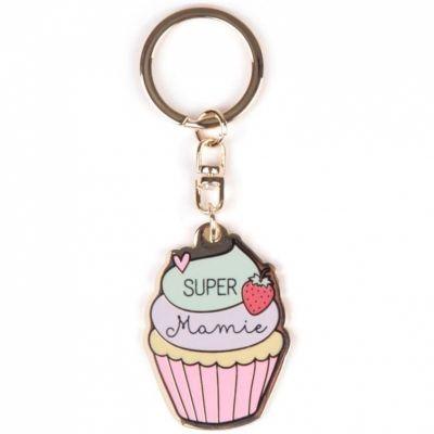 Porte-clés Super mamie  par Créa Bisontine
