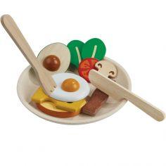 Assiette petit déjeuner