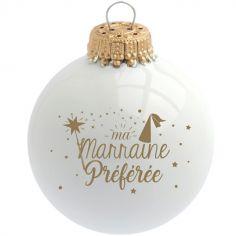 Boule de Noël Ma Marraine Préférée