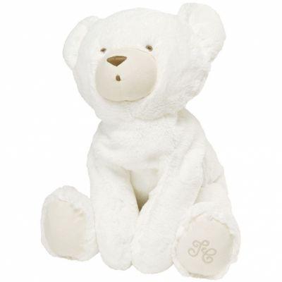 Peluche Prosper l'ours polaire écru (25 cm) Tartine et Chocolat