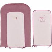 Matelas à langer avec 2 serviettes Mia et Victoria (45 x 70 cm) - Noukie's