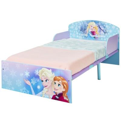 lit enfant premium la reine des neiges 70 x 140 cm. Black Bedroom Furniture Sets. Home Design Ideas