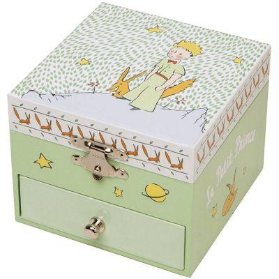 Boîte à bijoux musicale phosphorescente Le Petit Prince  par Trousselier