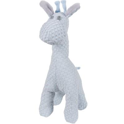 Peluche girafe debout Sun bleu poudré et gris argent (40 cm) Baby's Only