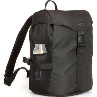 Sac à dos à langer Eco Black  par Storksak