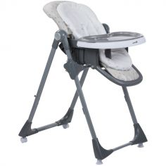 Chaise haute évolutive 3 en 1 Kiwi Warm Grey