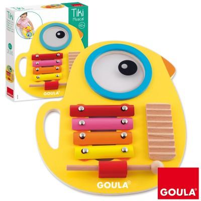 Xylophone musical Tiki  par Goula
