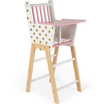 Chaise haute pour poupon Candy Chic Janod