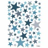 Stickers A3 My SuperStar stone blue by Sophie Cordier (29,7 x 42 cm) - Lilipinso