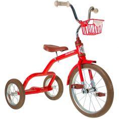 Tricycle Spokes avec panier avant 16'' rouge