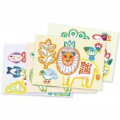 Kit de coloriage Zoo Zoo - Djeco