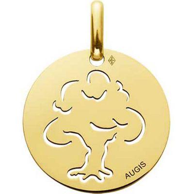 Médaille Arbre de vie ajouré 15 mm (or jaune 750°)  par A.Augis