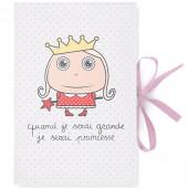 Protège carnet de santé Quand je serai grande je serai princesse - Isabelle Kessedjian
