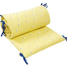 Tour de lit Chats jaune (pour lits 60 x 120 et 70 x 140 cm)