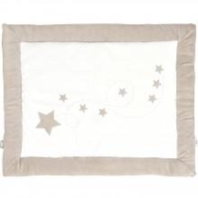 Tapis de parc Jumping stars étoile sable (80 x 100 cm)  par Jollein