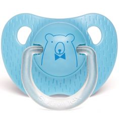 Sucette physiologique Ours bleu (0-6 mois)