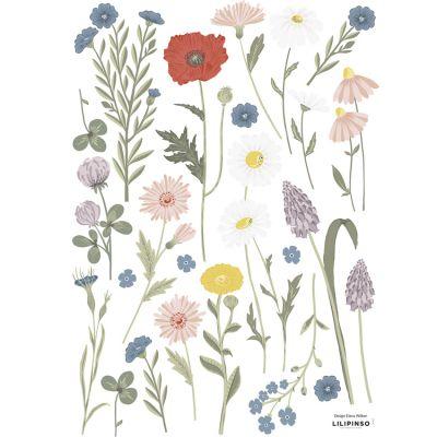 Planche de stickers A3 Fleurs des champs