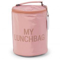 Sac isotherme My lunchbag rose et cuivre