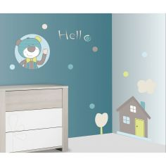 Stickers Hello ours Paddy (60 x 80 cm)