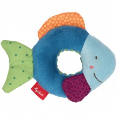 Hochet anneau poisson Red Stars