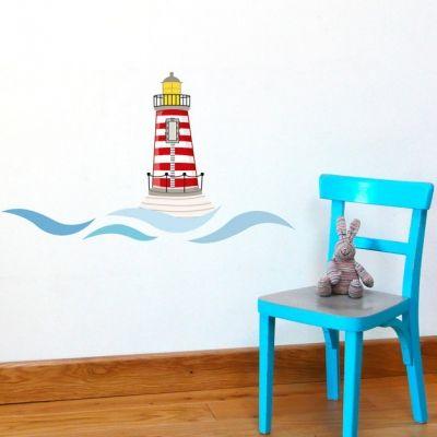 Stickers muraux le phare  par Série-Golo