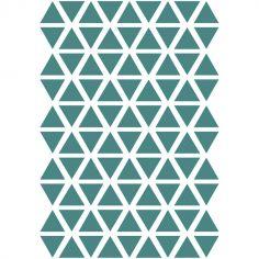 Stickers triangles jungle (29,7 x 42 cm)
