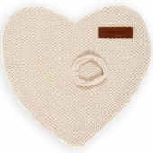 Attache sucette Classic coeur sable - Baby's Only