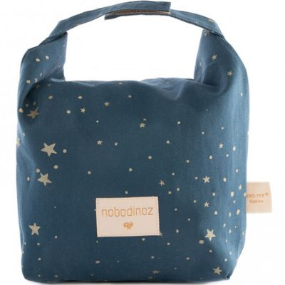 Pochette imperméable Too cool Gold Stella bleu  par Nobodinoz