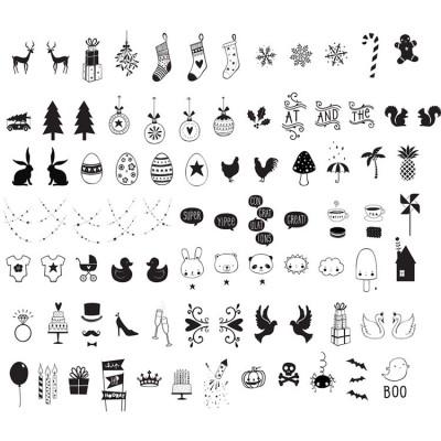 Assortiment de motifs pour lightbox Celebrations  par A Little Lovely Company