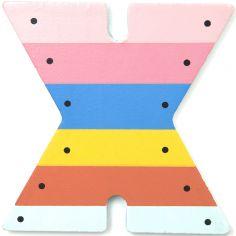 Lettre décorative X comme xylophone