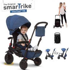 Tricycle évolutif 7 en 1 pliant smarTfold 700 bleu