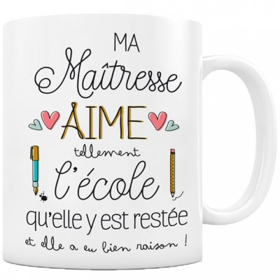 mug ma tresse aime l 39 cole par cr a bisontine. Black Bedroom Furniture Sets. Home Design Ideas