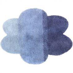 Tapis nuage dégradé bleu (100 x 130 cm)