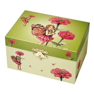 Boîte à bijoux musical Zinia Flower Fairies  par Trousselier