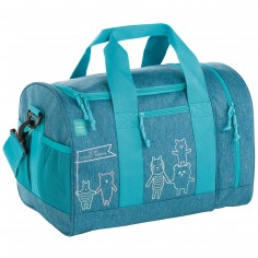 Sac de sport About Friends chiné bleu