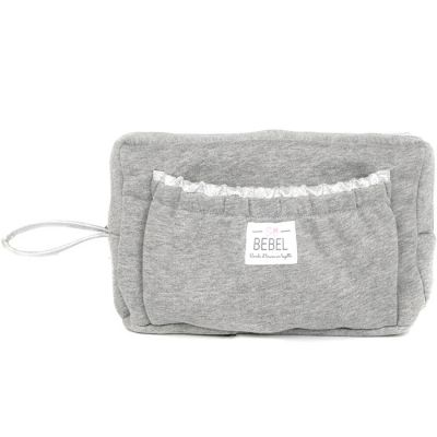 Trousse de toilette gris chiné New Jersey  par BEBEL