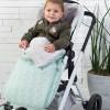 Chancelière pour poussette Cable vert d'eau  par Baby's Only