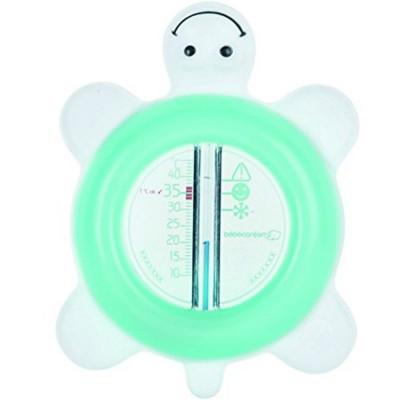 Thermomètre de bain tortue Sailor vert d'eau