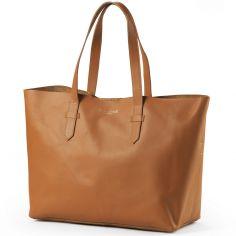 Sac à Langer Chestnut Leather