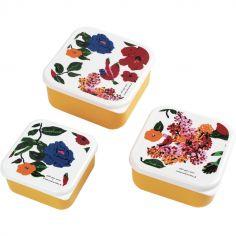 Lot de 3 boîtes à goûter Le Petit Lucas Du Tertre Hibiscus