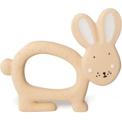 Jouet de préhension en caoutchouc lapin Mrs. Rabbit  par Trixie