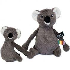Peluche Les Ptipotos Koala gris (28 cm)