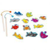 Jeu de pêche aimanté Poissons dangereux (12 pièces) - Scratch