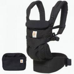 Porte bébé Omni 360 noir intense