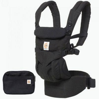 Porte bébé Omni 360 noir intense Ergobaby