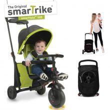 Tricycle évolutif 7 en 1 pliant smarTfold 500 vert  par smarTrike